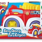 Пожарная, машинка музыкальная, шт.арт.: K12841