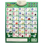 Звуковой плакат Знаток - Говорящая азбука - русский язык, арт. rew-k041