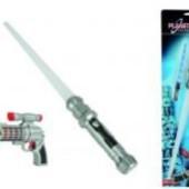 Лазерный меч Космический солдат + бластер от  Simba