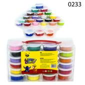 тесто для лепки Light Clay наборы из 4 12 16 цветов масса пластилин легкий воздушный