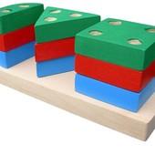 Пирамидка «Гео мини 1», Komarovtoys Артикул: А 309