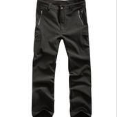 Тактические брюки Ветрозащитные, влогостойкие на флисе. Размеры:м,л,хл (2з