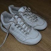 K-swiss кожаные кроссовки 33р