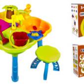 Песочный столик с набором