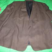 Пиджак полушерстяной ,р.60-62.Состояние нового.