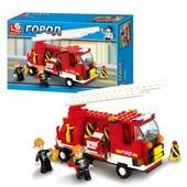 Конструктор Sluban M38-B3000 пожарная машина