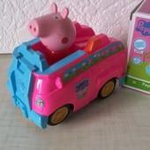 Машинка муз., движение, «Свинка Пеппа»