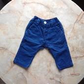 Стильные штаны на мальчика фирмы Next на возраст 3-6 мес (реально до 9 мес)