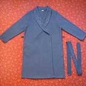 Флисовый женский халат размер L, б/у. Отличное состояние, без дефектов. Длина 105 см, ширина под мыш