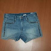 модные шорты на 12-13 лет (подойдет на хс)