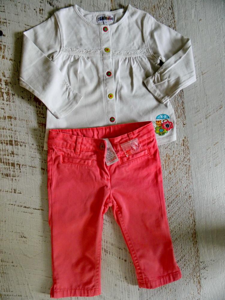 Стильные брюки jacadi 2-3 года фото №1
