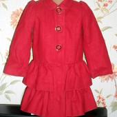 Пальто George на 3-4 года, 98-104 см