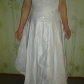 Свадебное платье  48-52 р!Можно для рукоделия!
