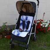 Мягкие натуральные вкладыши в детскую коляску