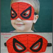 Маска спайдермена, человека паука.