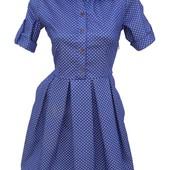 Летние платья из стрейч коттона