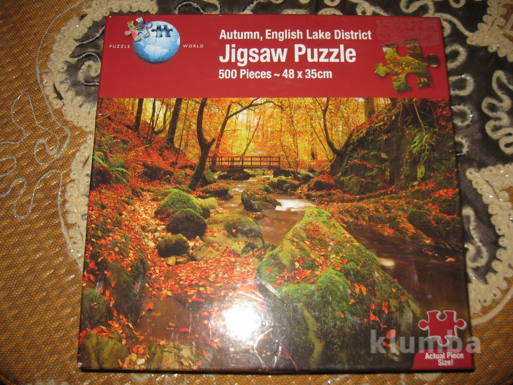 "Пазлы""jigsaw"" 500 шт. autumm english lak фото №1"