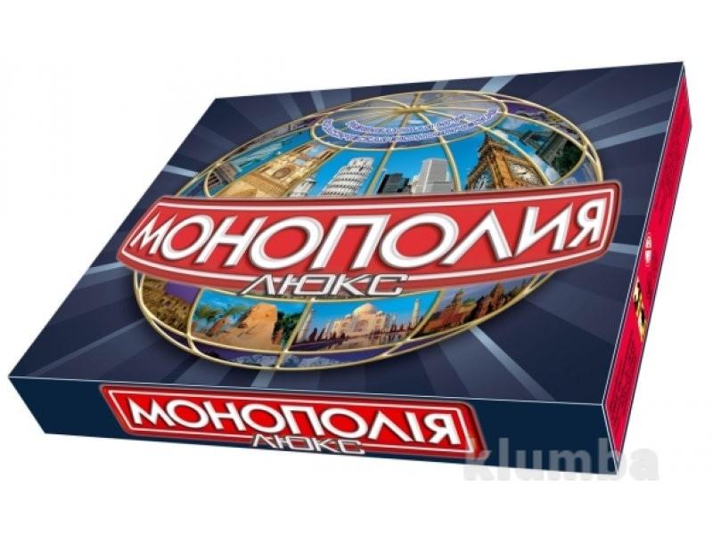 Настольная игра монополия люкс фото №1