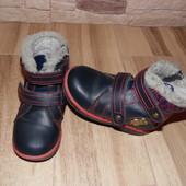 зимові черевики 16.5-17см