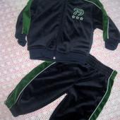 Велюровый спортивный костюм для мальчика 18мес.