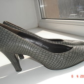 Туфли Salamander, из кожи змеи 6,5 /25,5 см