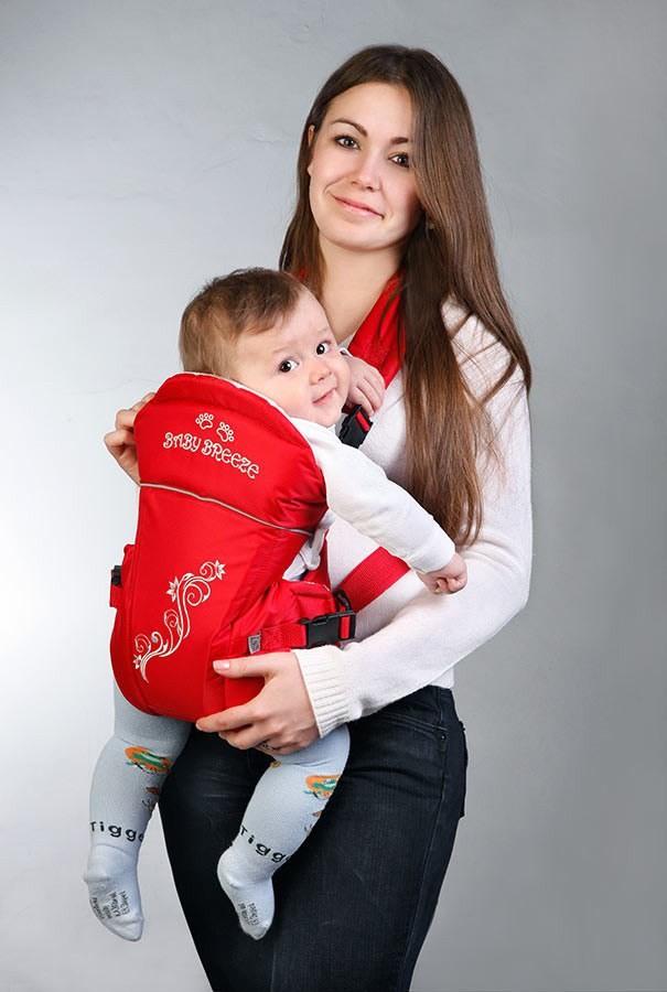 Рюкзак-кенгуру Baby Breeze фото №1