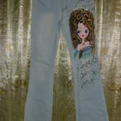 джинсы клёш очень красивые