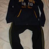 Теплые штаны спортивные на мальчика 5-6 лет