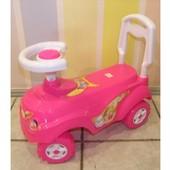 Машинка  для катання яскр-рожевий орион 157