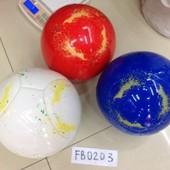 Мяч футбольный PU 4 цвета. артикул FB0203