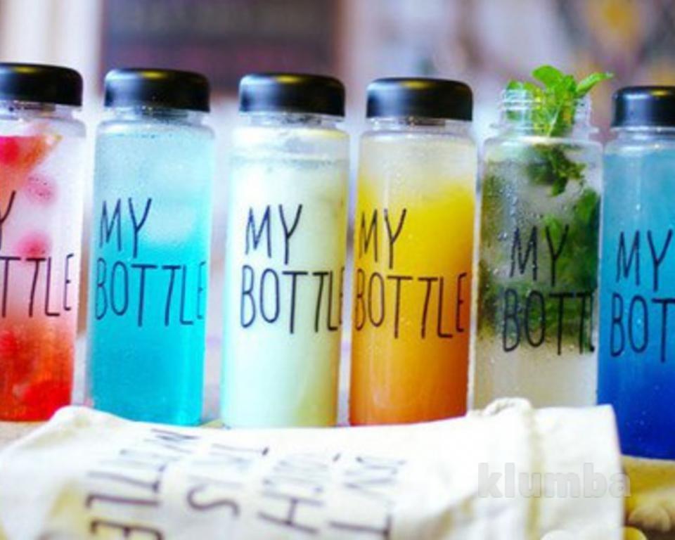 Лучший подарок!!! Бутылка для напитков My Bottle фото №1