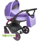 Детская универсальная коляска Anmar Infiniti 09N, цвет фиолетовый