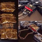 Лакированная сумочка для маленьких модниц копия Chanel