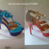 Новые фирменные, яркие и красивые босоножки Plato, цвет на выбор ( 40 и 41 размер!!!)