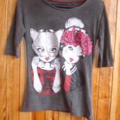Модная футболка 9-12 лет