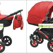 Универсальная коляска Camarelo Sevilla SE-11 цвет Красный