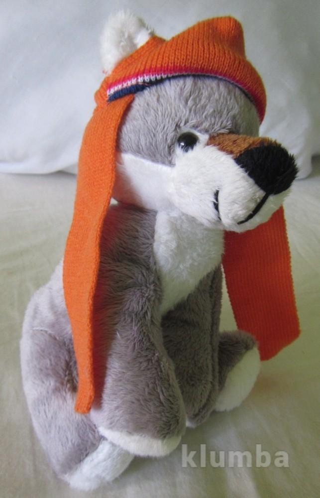 Новые мягкие игрушки волченок собачка много дешево волк собака щенок  фото №1