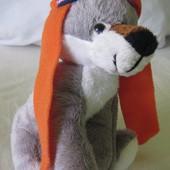 новые мягкие игрушки волченок собачка много дешево волк собака щенок