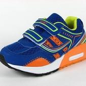 100-82-331 Детская спортивная обувь для мальчиков, цвет-синий+салатовый, ТОМ.М, размер 29-36
