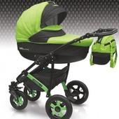 Универсальная коляска детская Camarelo Sevilla SE-21 цвет салатовый