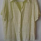 Блузка XL, (длинна 60см, ОГ 116-126см)