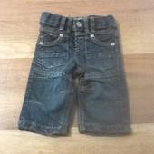 Стильные джинсы Baby blue 3-6 мес 68 см.