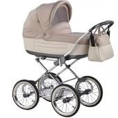 +видео! Универсальная коляска детская Roan Marita Prestige Chrome s-60