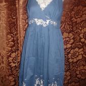 Фирменное платье сарафан из натуральной ткани 46-48 размер Одно на Выбор