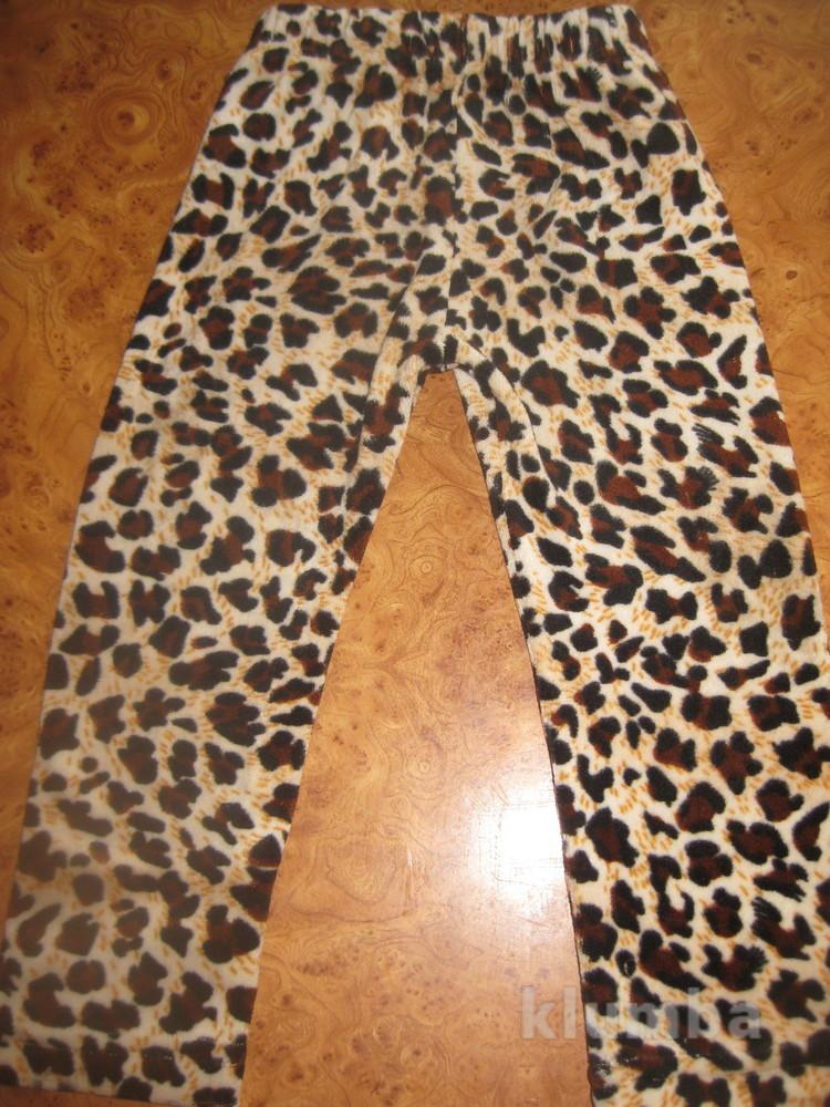 Леопардовые лосины фото №1