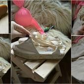 Крутые новые эспадрильи-сандалии на платформе Hamp ,р-р 38
