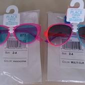 Очки розовые для малышки 2-4года Childrens Place 100% защита от ультрафиолетовых лучей