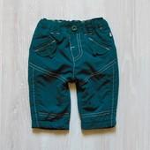 Стильные штаники для мальчика. Внутри на флисовой подкладке. Ergee. Размер 1-2 месяца