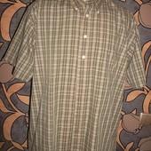 Рубашка с коротким рукавом Отличное состояние ПОГ=61 см.