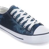 Кеды Фитс - синие -текстиль